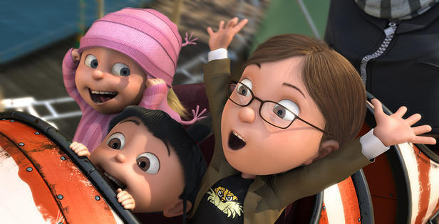 despicable me margo and agnes - photo #5