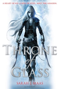 Throne of Glass- UK cover