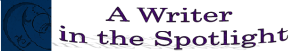 A Writer In The Spotlight Logo