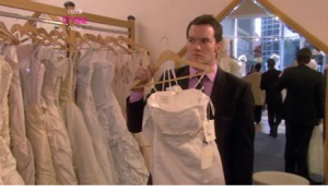 Ianto Jones - Gwen's wedding dress